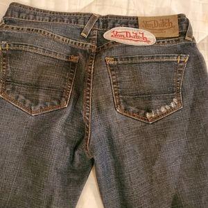 Von Dutch jeans.